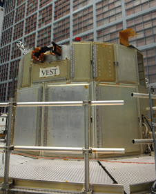 Photo of the Vehicle Electrical System Test facility