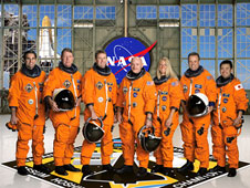 STS124-S-002: STS-124 crew