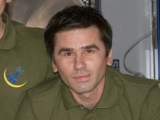Expedition 16 Flight Engineer Yuri Malenchenko