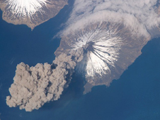 Eruption of Cleveland Volcano