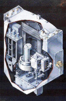 Cutaway view of a Fine Guidance Sensor
