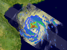 Satellite image of Neoguri