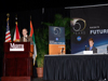 During NASA's Future Forum in Miami, Carl Walz provides an overview of NASA's Exploration Program. Walz is director of the Advanced Capabilities Division.