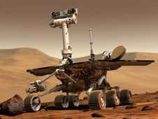 artist concept of Mars Exploration Rover