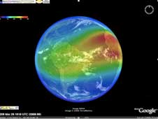 A screenshot of the 4D Ionosphere.
