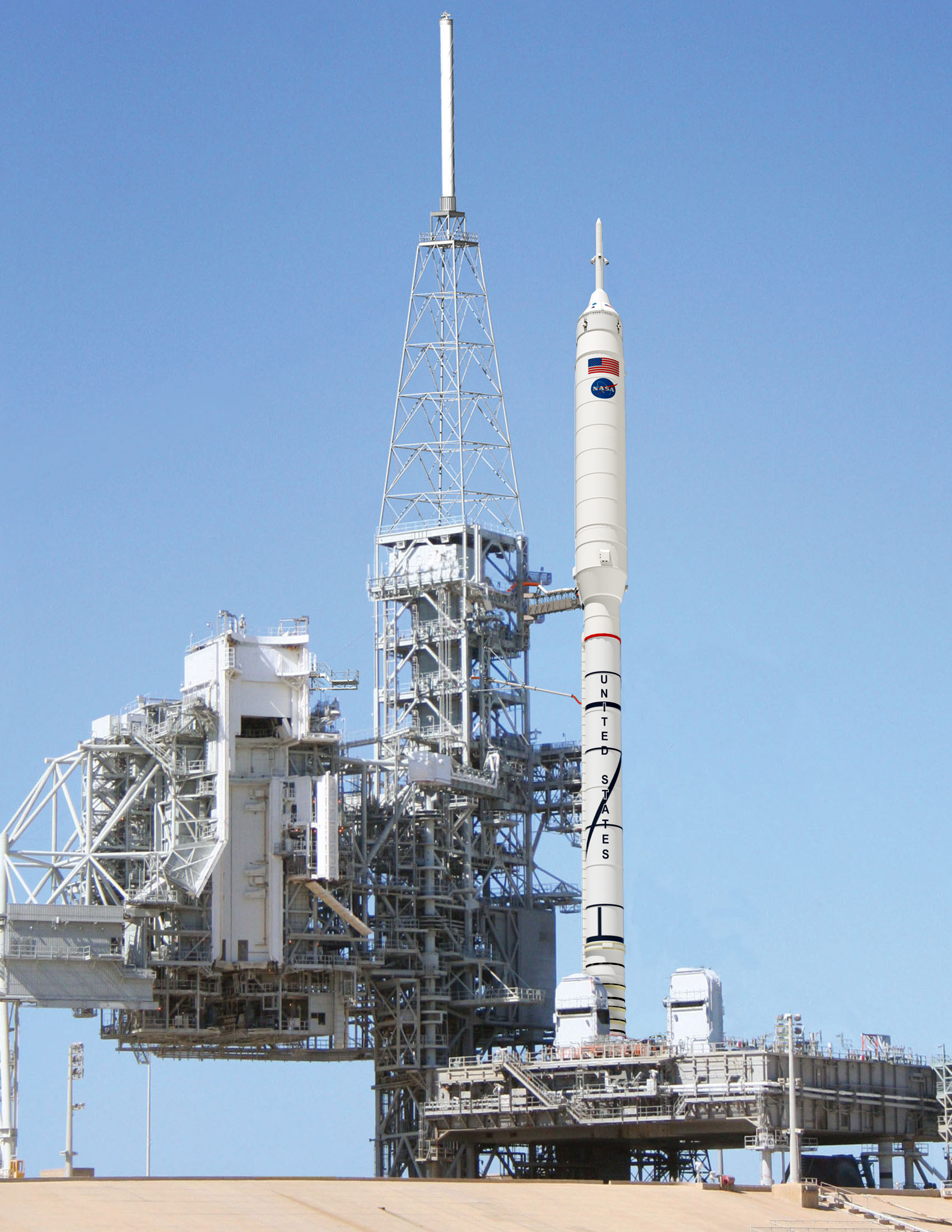 NASA - Ares I-X on Launch Pad