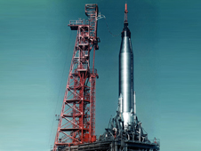 Mercury-Atlas rocket