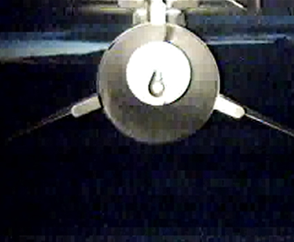 Pegasus under the L-1011 before drop
