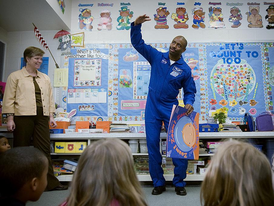 To Donald Trump by Leland Melvin former NASA Astronaut