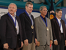 The U.S. Astronaut Hall of Fame inducted four members in its 2008 class.