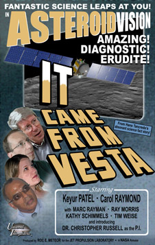 artist concept of poster for IT Came From Vesta