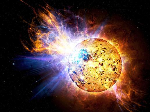 Pipsqueak Star Unleashes Monster Flare