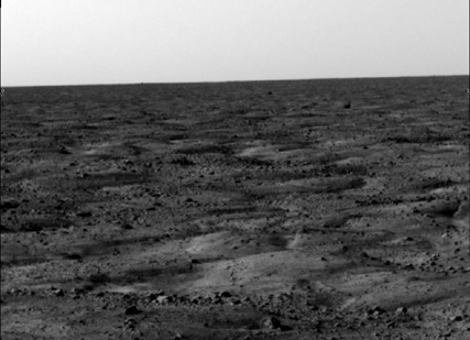 First images from Phoenix on Mars