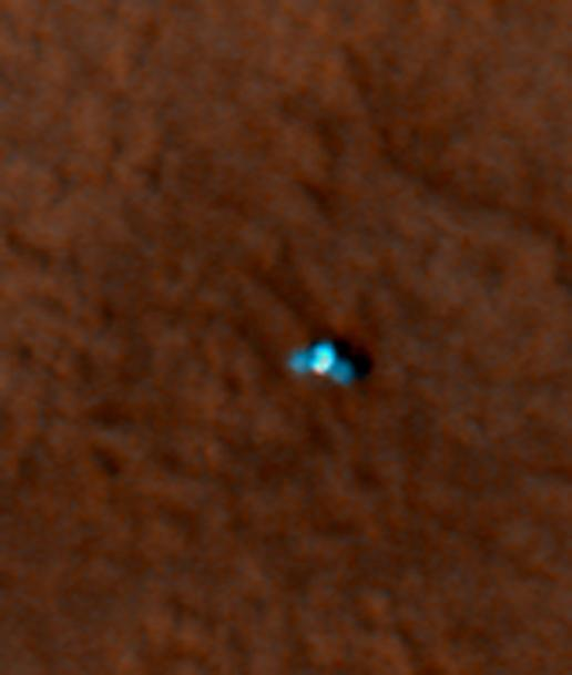 Color Image of Phoenix Lander on Mars Surface