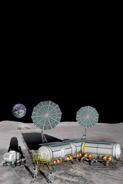 Nasa Outposts On The Moon Footprints On Mars Nasa S
