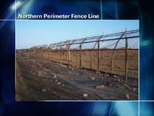 Nothern Perimeter Fence Line
