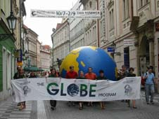 The TEREZA Association works with a GLOBE school to organize a three-day GLOBE Games event.