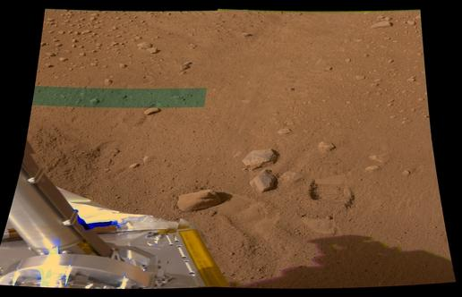 Color B of workspace from sol 7