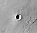 Mars Odyssey Thermal Emission Imaging System image of Mars surface