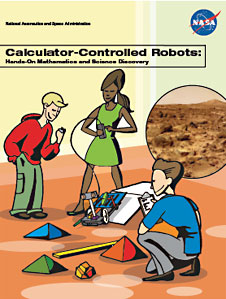 Cover of the Calculator-Controlled Robots Educator Guide