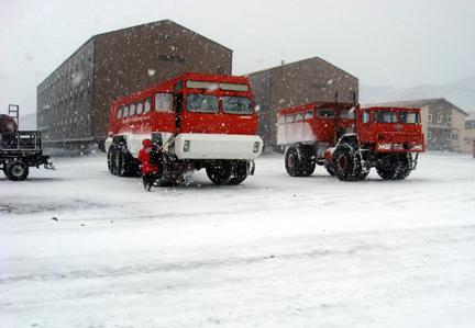 Best Snow Tires >> NASA - McMurdo Station Housing