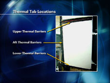 Thermal Tab Locations