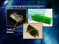 Inconel Spring Seal (Thermal Barrier)