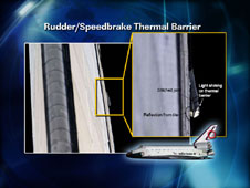 Rudder/Speedbrake Thermal Barrier