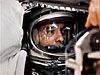 Astronaut Alan Shepard inside the Freedom 7 capsule