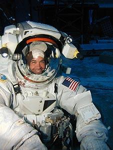 First woman astronaut