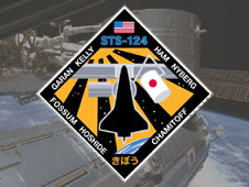 STS-124 crew patch