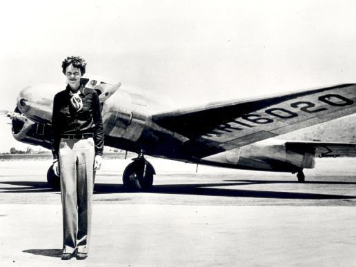 Earhart Crosses the Atlantic