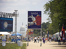 NASA at the 42nd annual Smithsonian Folklife Festival