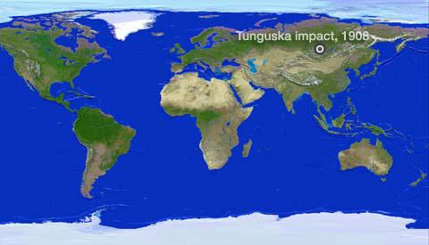 Nasa 100 Years Of Space Rock The Tunguska Impact