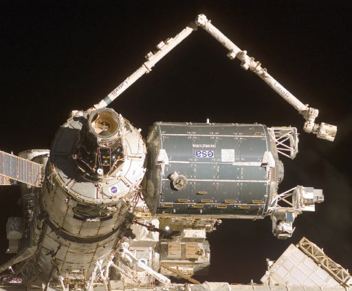 ISS Assembly Mission 1E