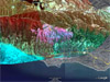 Ikhana image of California fires region