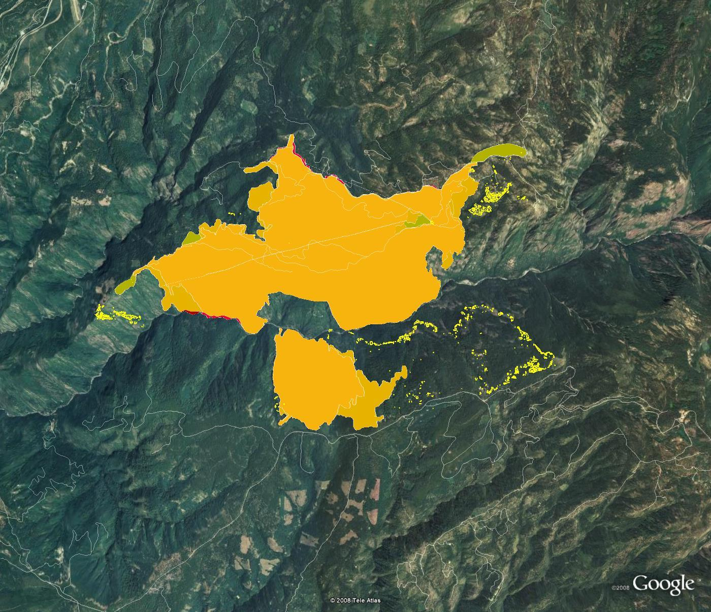 Lake Isabella Fire Map.Nasa Nasa Imagery Of Fire And Smoke