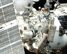 Expedition 17 spacewalk