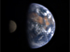 Image of the Moon transiting Earth
