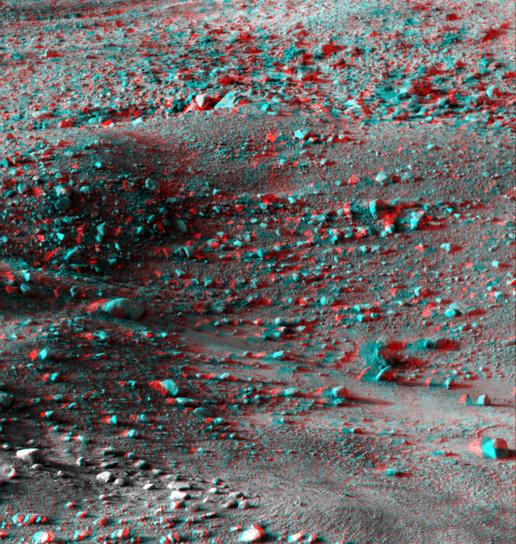 Martian Surface as Seen by Phoenix