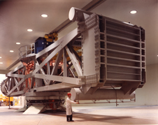 Big equipment - A Launch Phase Simulator or High Capacity Centrifuge at the Goddard Space Flight Center.