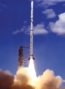 Good Scout - Scout rockets launched at the Wallops Flight Facility have been used to place small satellites into orbit and for research.