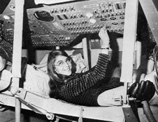 Software designer - Margaret Hamilton, lead Apollo flight software designer.