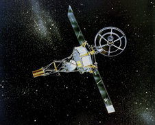 First interplanetary spacecraft - Launched Aug. 27, 1962 NASA's Mariner 2 spacecraft was the first robotic probe to pass near a planet. On Dec. 14, 1962 the spacecraft flew within 21,000 miles of Venus, sending back valuable new information about the solar wind, and our sister planet's temperature and atmosphere.