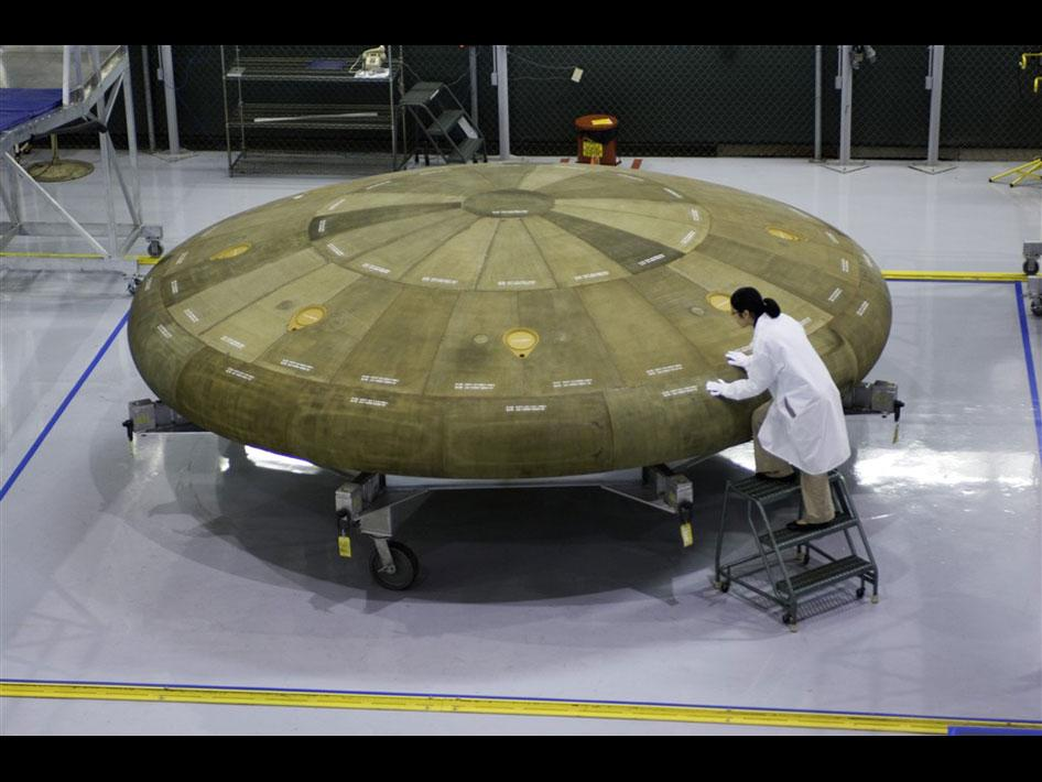 image of Orion heat shield