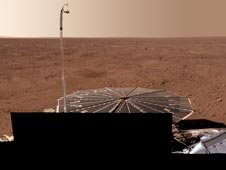 Full-Circle Color Panorama of Phoenix Landing Site on Northern Mars