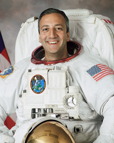 JSC2001-02670: Mike Massimino