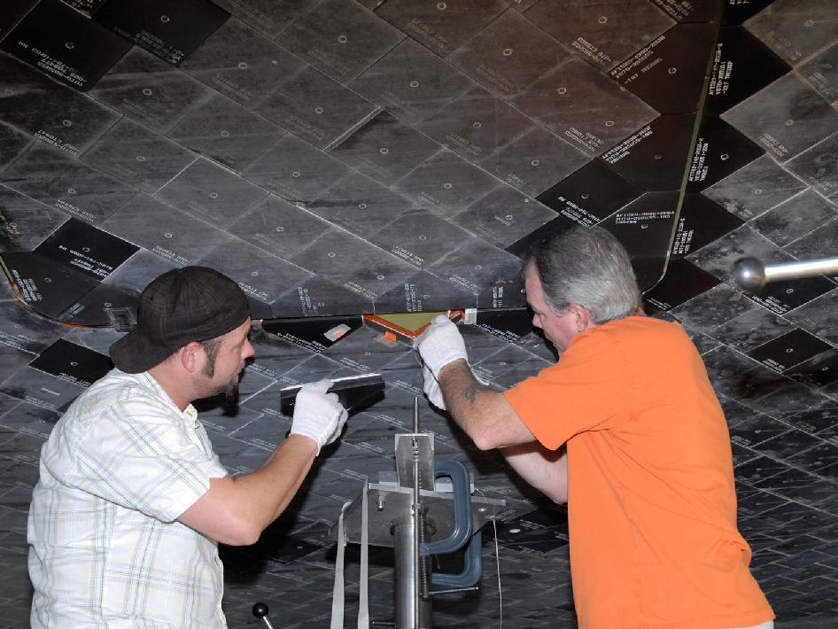 Nasa Endeavour Tile Replacement
