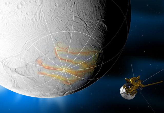 cassini saturn satellite - photo #9