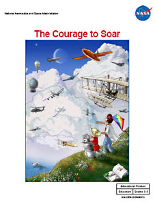 The cover page of The Courage to Soar Educator Guide